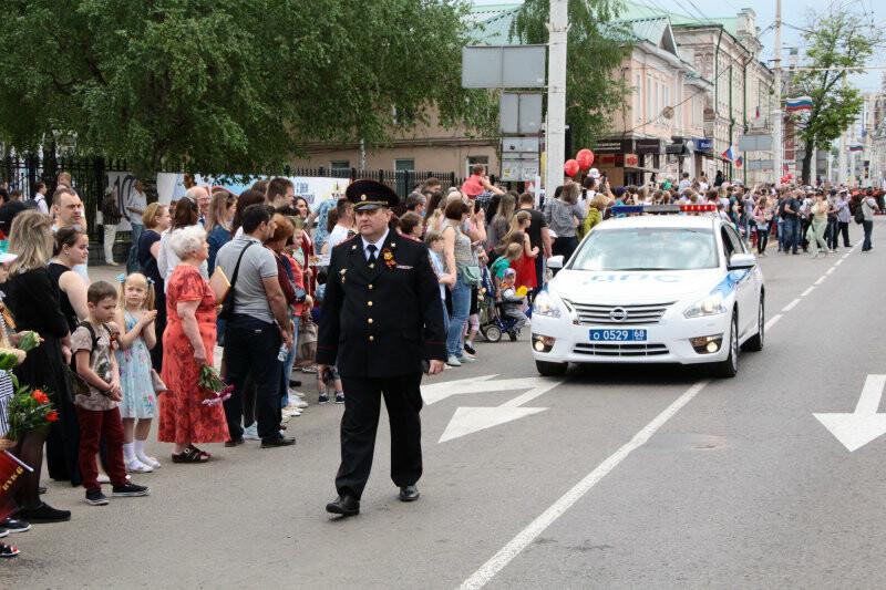 Полиция Тамбовской области обеспечила безопасность граждан во время Дня Победы, фото-1