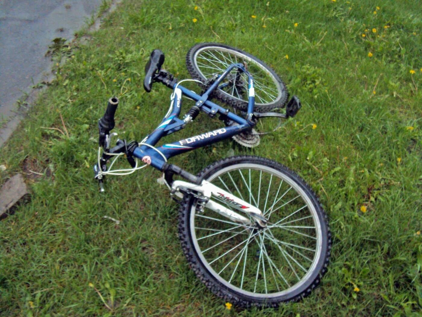На севере Тамбова 11-летний велосипедист попал под колеса машины, фото-1