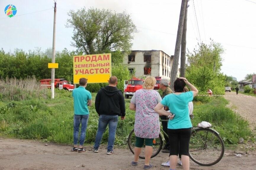 В Рассказове загорелось здание учебного заведения. ВИДЕО, фото-6