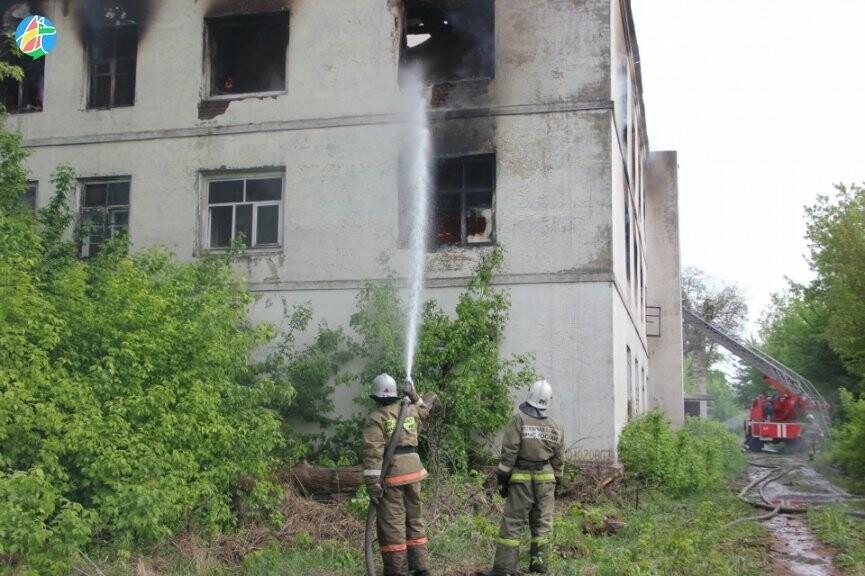 В Рассказове загорелось здание учебного заведения. ВИДЕО, фото-2