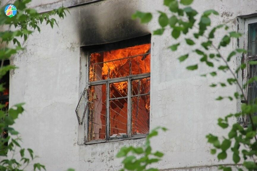 В Рассказове загорелось здание учебного заведения. ВИДЕО, фото-4