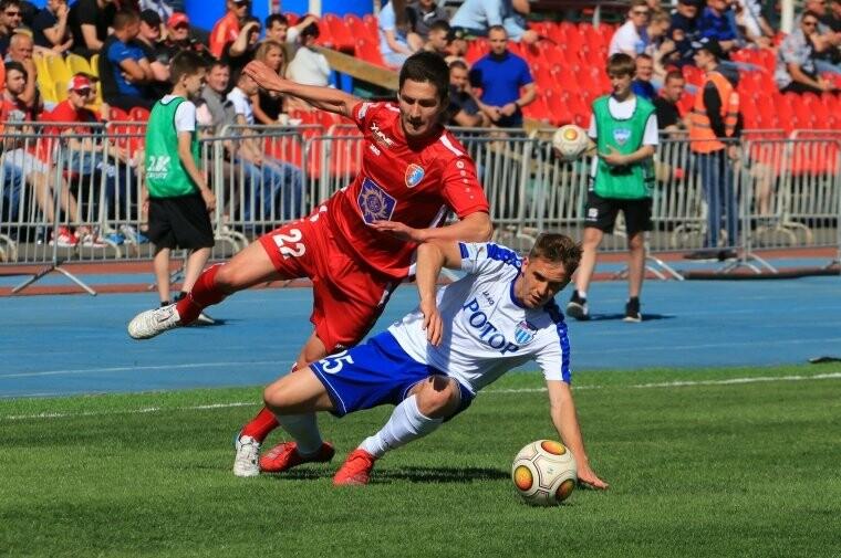 ФК «Тамбов» в меньшинстве обыграл волгоградский «Ротор» и вернулся на первую строчку в таблице, фото-2