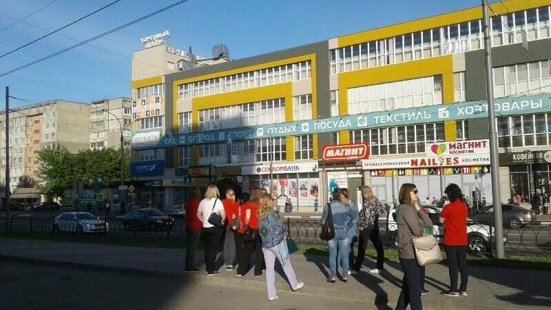 В Тамбове экстренно эвакуировали людей из ТЦ, автовокзалов и аэропорта. ВИДЕО, фото-10