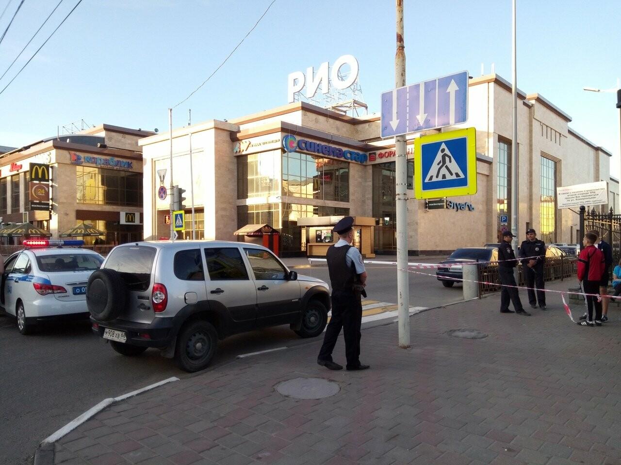В Тамбове экстренно эвакуировали людей из ТЦ, автовокзалов и аэропорта. ВИДЕО, фото-4