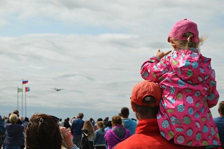 Фигуры высшего пилотажа, воздушный бой и выставка техники - фотообзор авиашоу в Тамбове, фото-9