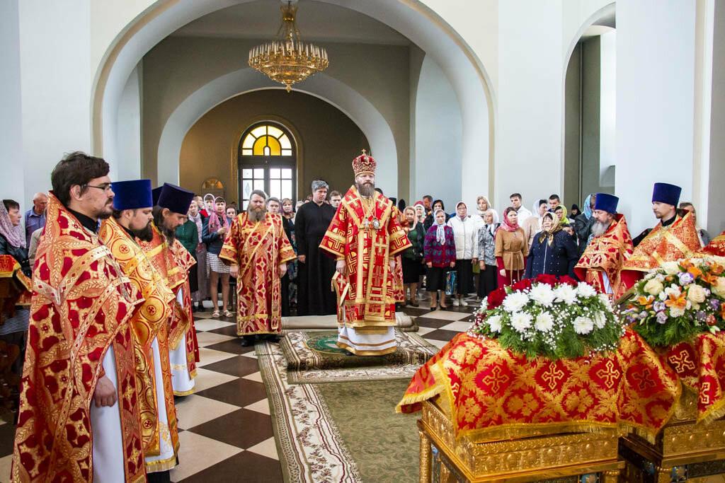 В Тамбов привезли чудотворную Вышенскую икону Божией Матери, фото-1