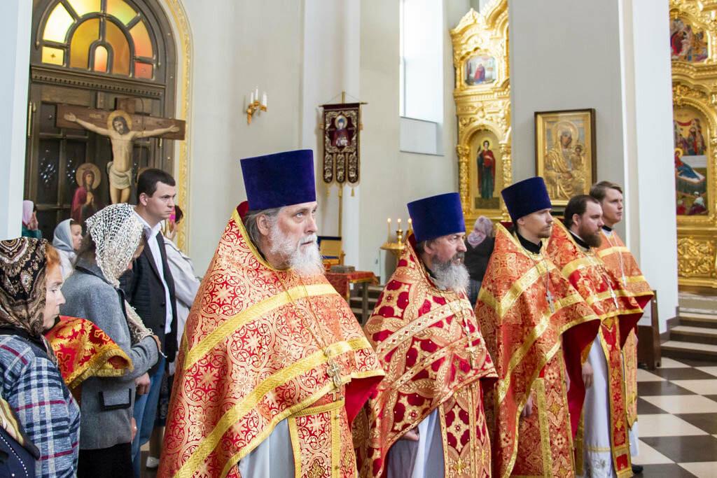 В Тамбов привезли чудотворную Вышенскую икону Божией Матери, фото-2