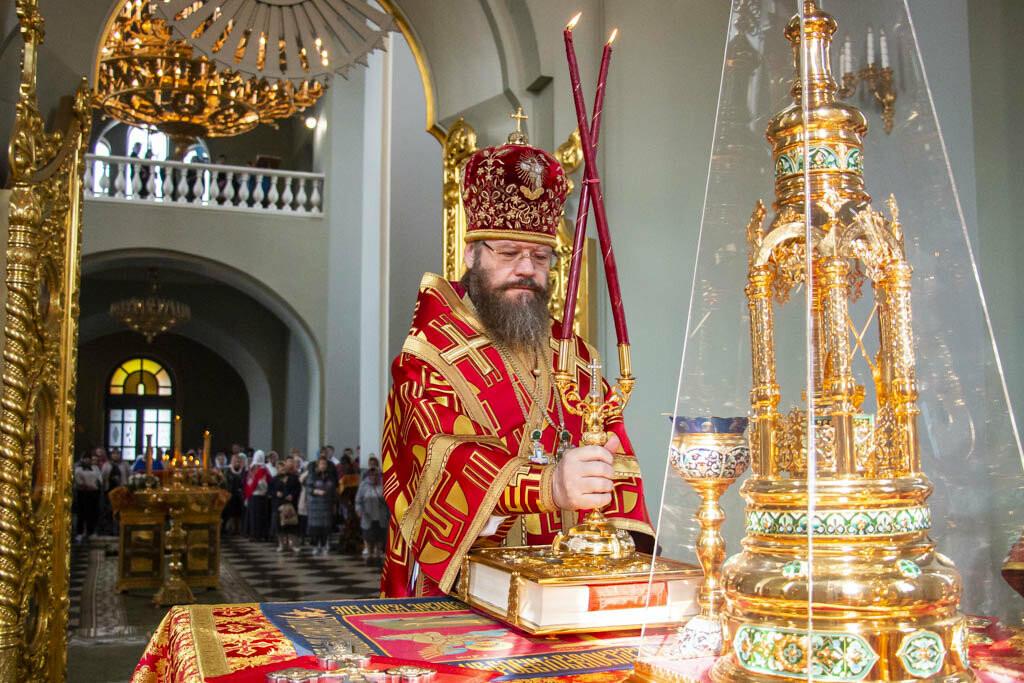В Тамбов привезли чудотворную Вышенскую икону Божией Матери, фото-3