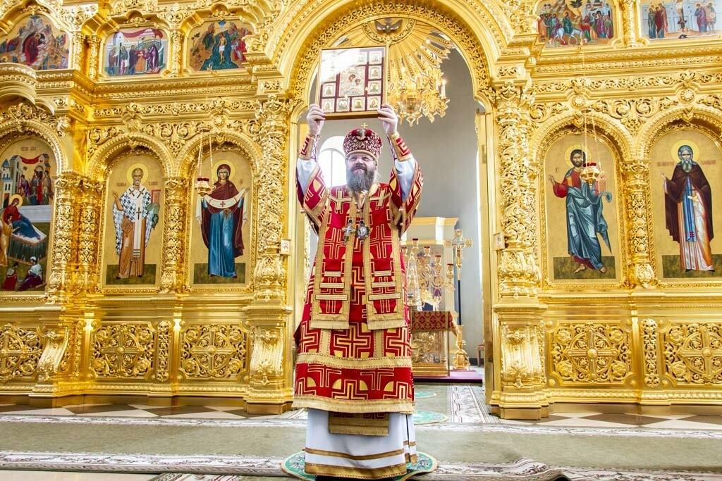 В Тамбов привезли чудотворную Вышенскую икону Божией Матери, фото-6