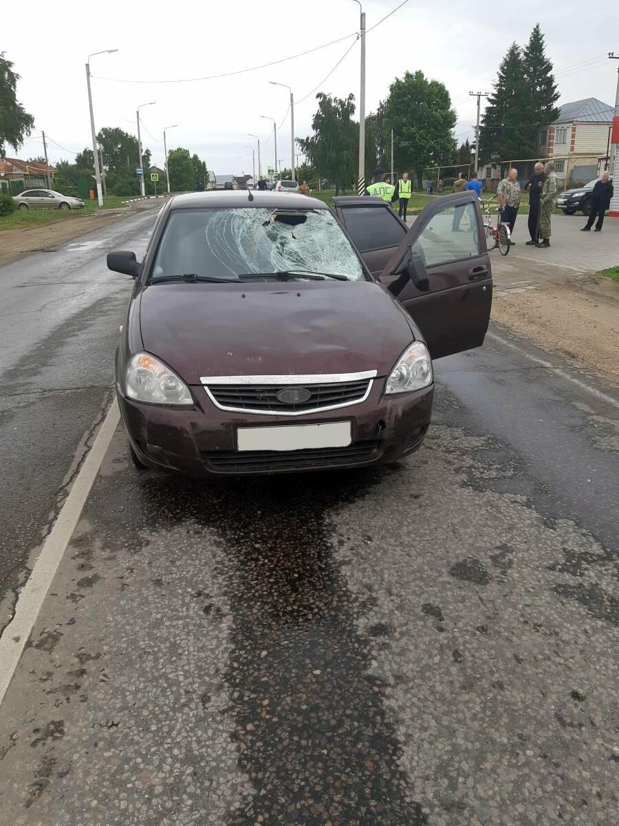 Под Тамбовом таксист насмерть сбил пожилого велосипедиста. ВИДЕО, фото-2
