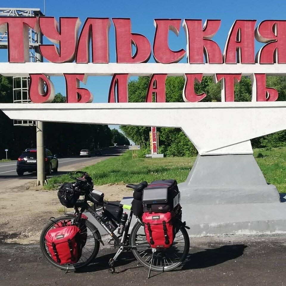 Из Германии в Россию: маршрут велопутешественника прошел через Тамбов, фото-2