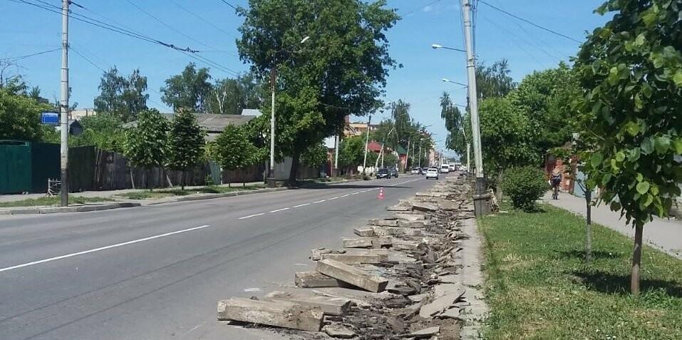 В центре Тамбова ремонтируют несколько улиц, фото-7