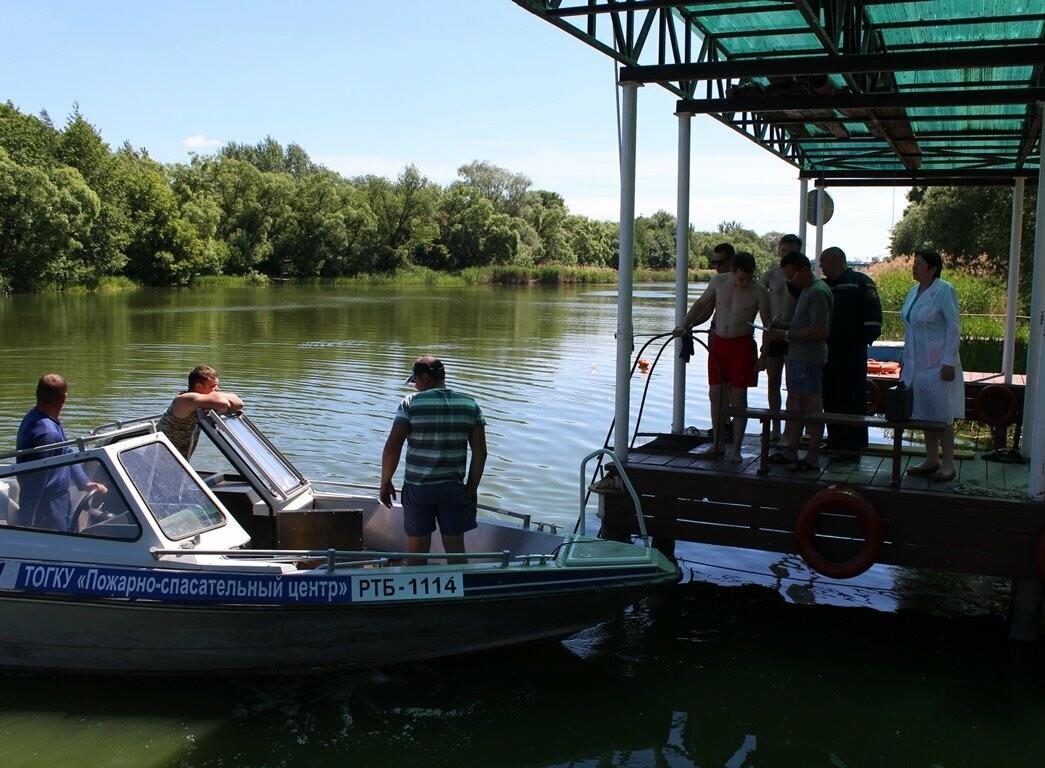 В Тамбове матросы-спасатели сдают практические экзамены , фото-3