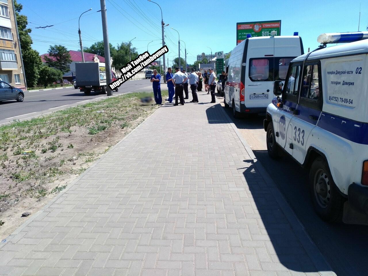 В районе автовокзала «Северный» скончался тамбовчанин, напавший с ножом на полицейского. ВИДЕО, фото-1