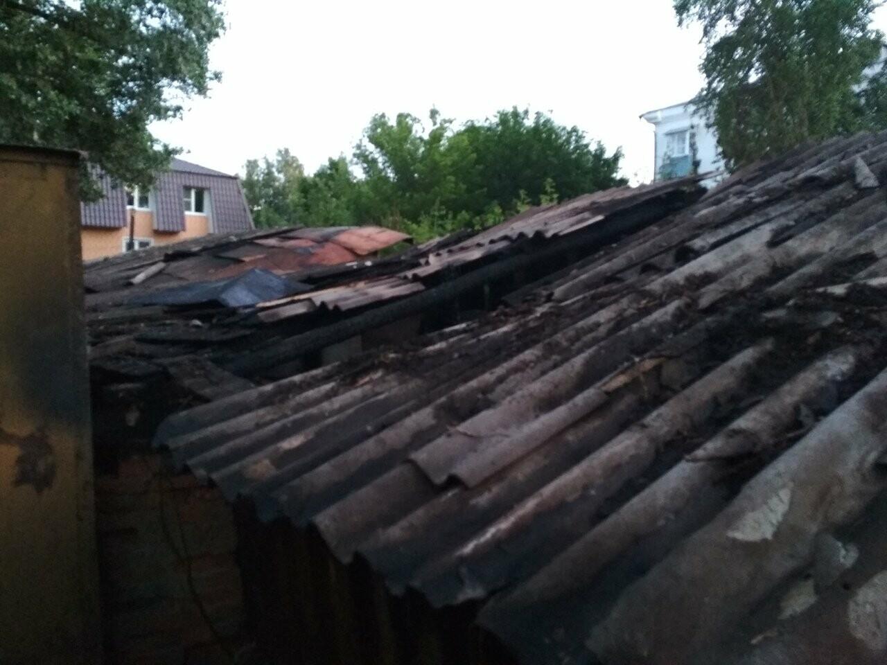 В Тамбове сгорели 16 сараев из-за сжигания тополиного пуха. ВИДЕО, фото-2