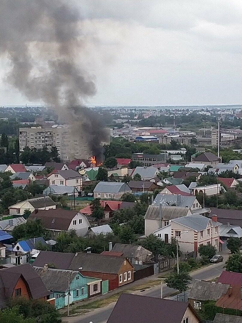 На севере Тамбова сгорели два дома с надворными постройками, фото-5