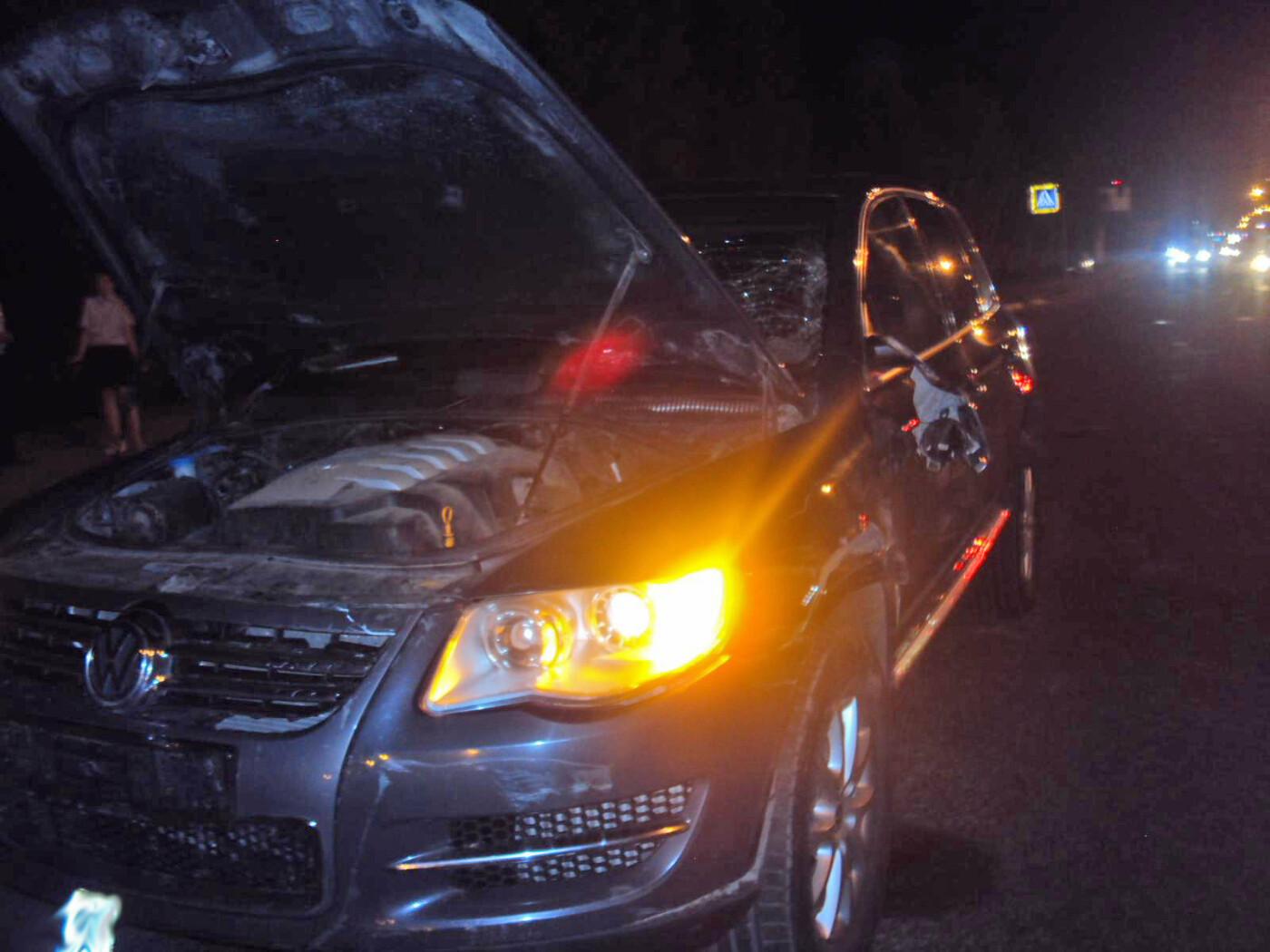В Тамбове кроссовер насмерть сбил велосипедиста на пешеходном переходе, фото-1