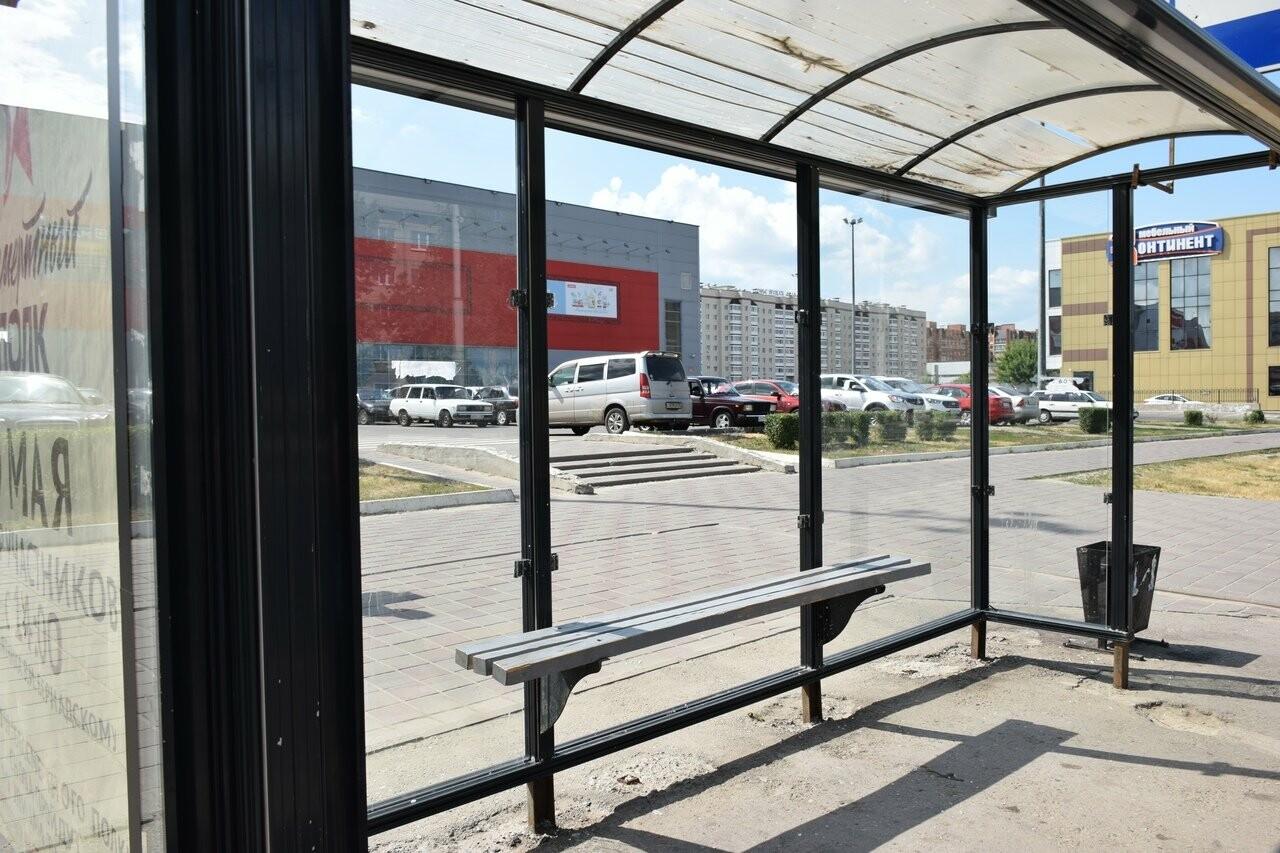 В Тамбове вандалы вновь разбили остановку общественного транспорта, фото-3