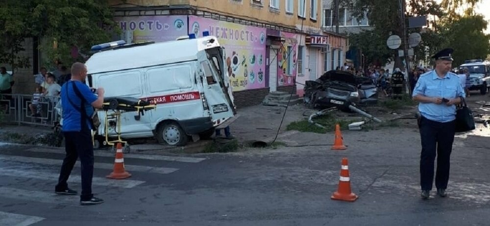 Полиция возбудила уголовное дело после ДТП в Моршанске, фото-1