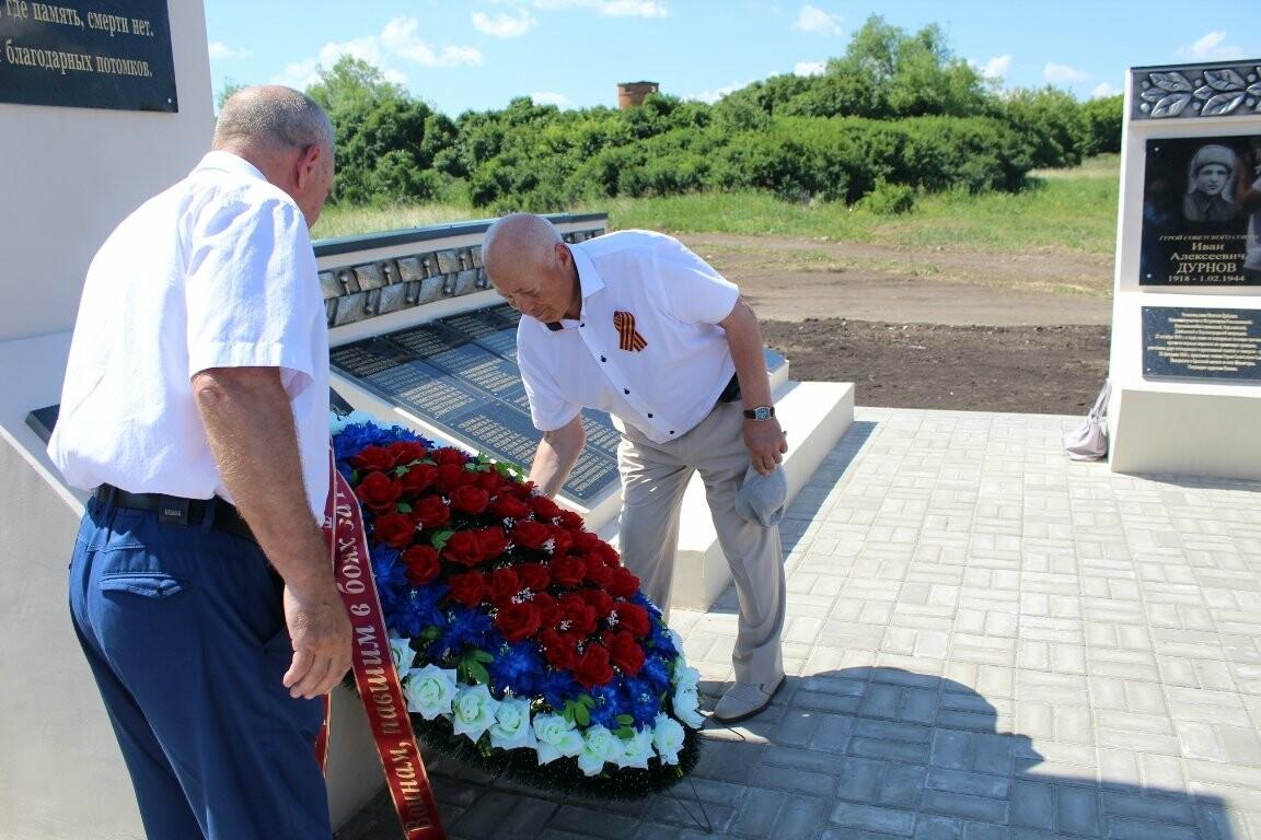 В Моршанском районе открыли новый мемориальный комплекс, фото-3