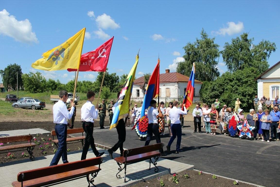В Моршанском районе открыли новый мемориальный комплекс, фото-2