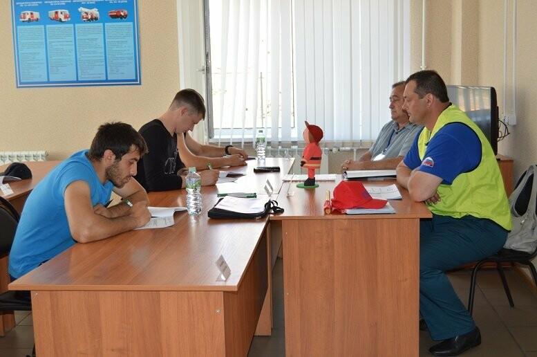 Пожарный из Тамбова отправится на всероссийский конкурс «Лучший по профессии», фото-9