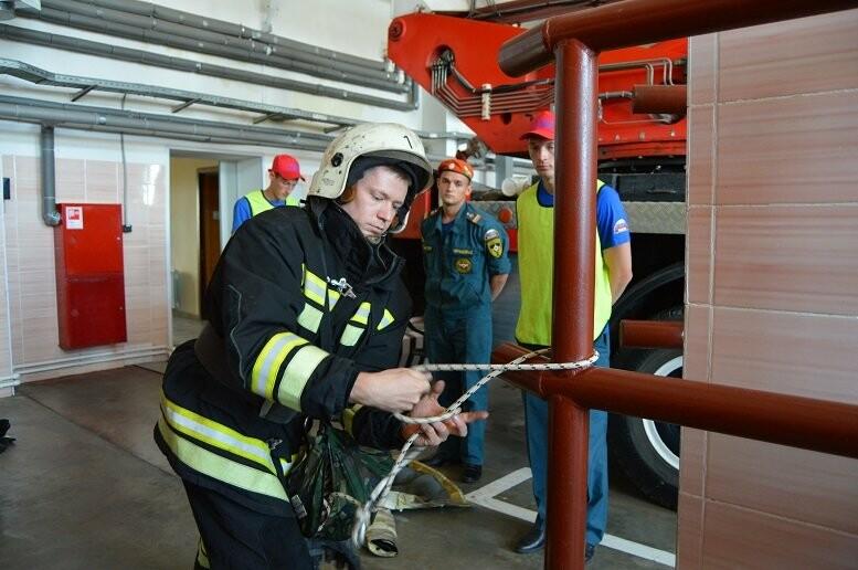 Пожарный из Тамбова отправится на всероссийский конкурс «Лучший по профессии», фото-7