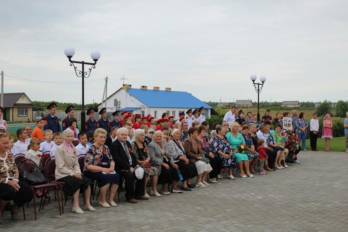 В селе Соколово Кирсановского района открыли новый мемориал, фото-1