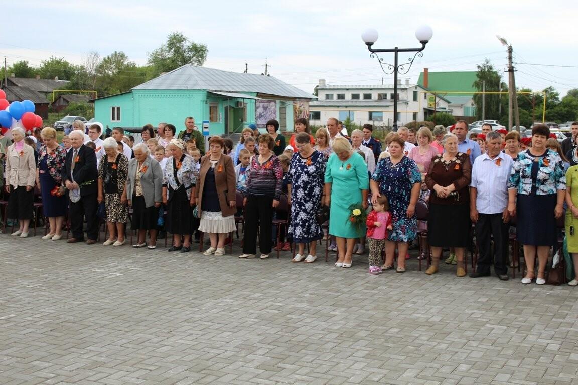В селе Соколово Кирсановского района открыли новый мемориал, фото-3