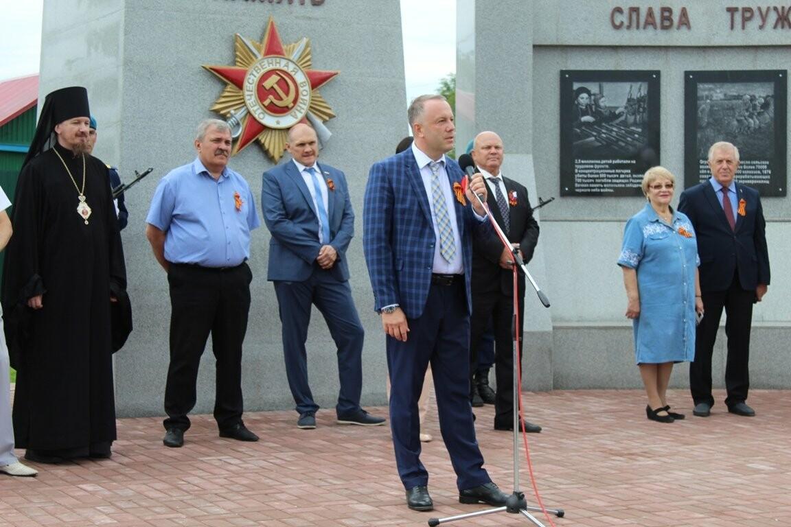 В селе Соколово Кирсановского района открыли новый мемориал, фото-6