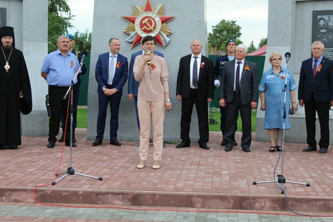 В селе Соколово Кирсановского района открыли новый мемориал, фото-7