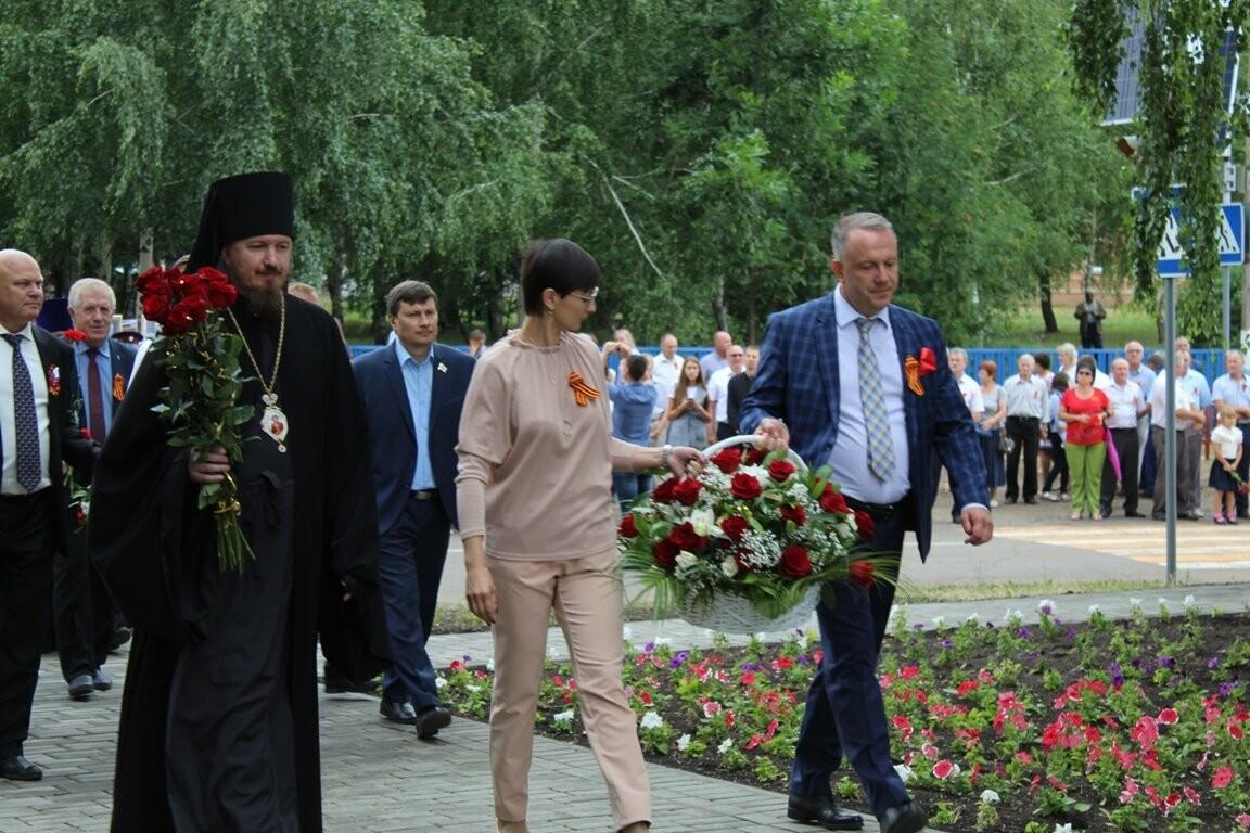 В селе Соколово Кирсановского района открыли новый мемориал, фото-8