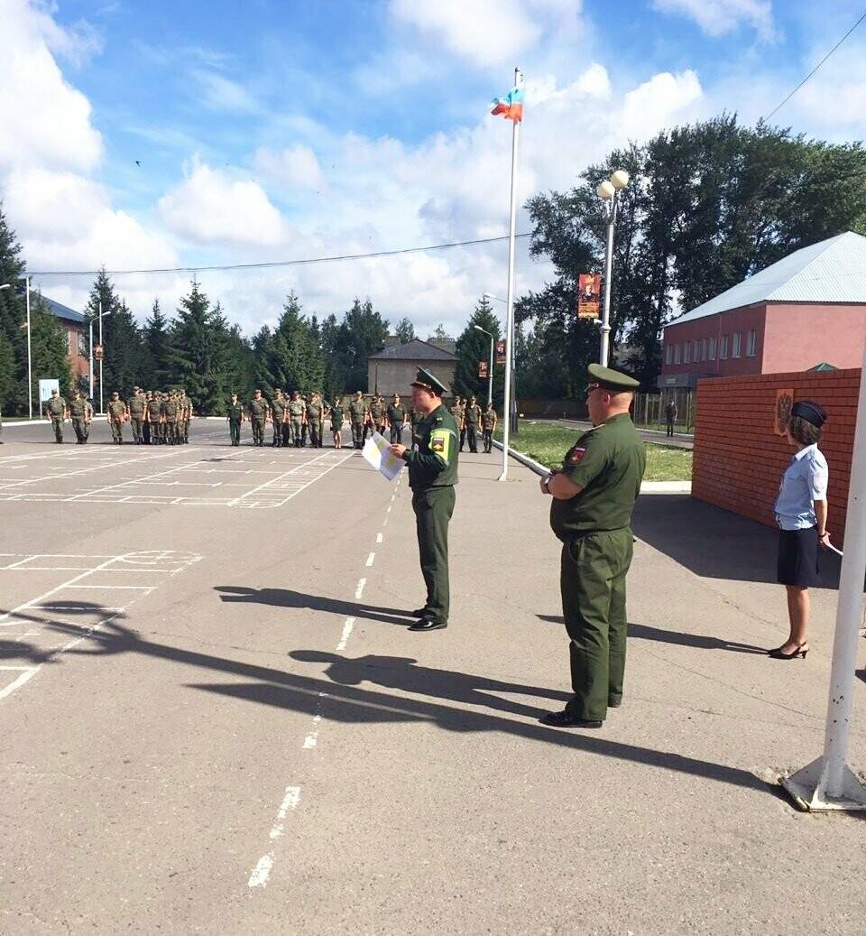 В воинских частях Тамбовского гарнизона провели «День водителя», фото-2