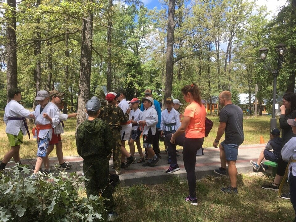 Тамбовские силовики провели в «Росинке» большой спортивный праздник, фото-2
