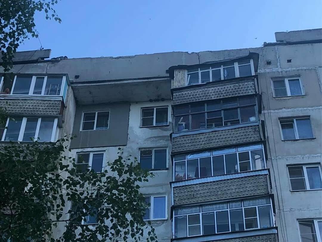 В Тамбове следователи устанавливают причины обрушения бетонных плит в многоэтажке. ВИДЕО, фото-1