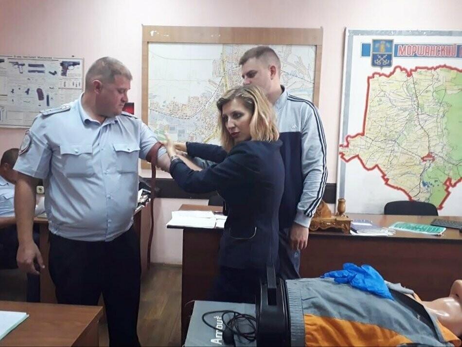 Тамбовские автоинспекторы готовы оказать первую медицинскую помощь на месте ДТП, фото-3