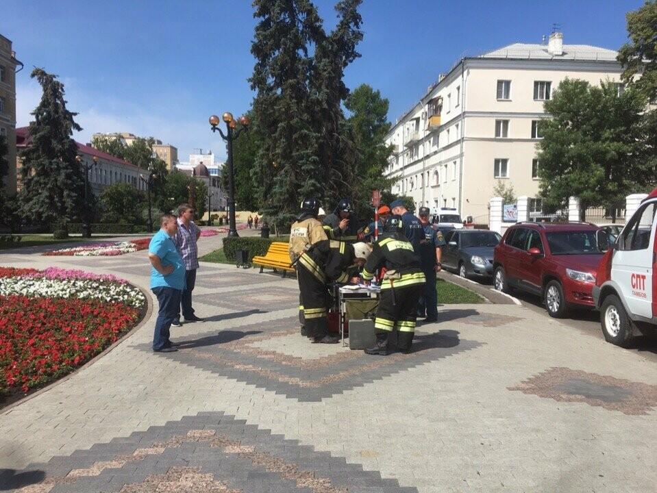 Тамбовский краеведческий музей оказался охвачен огнем, фото-2