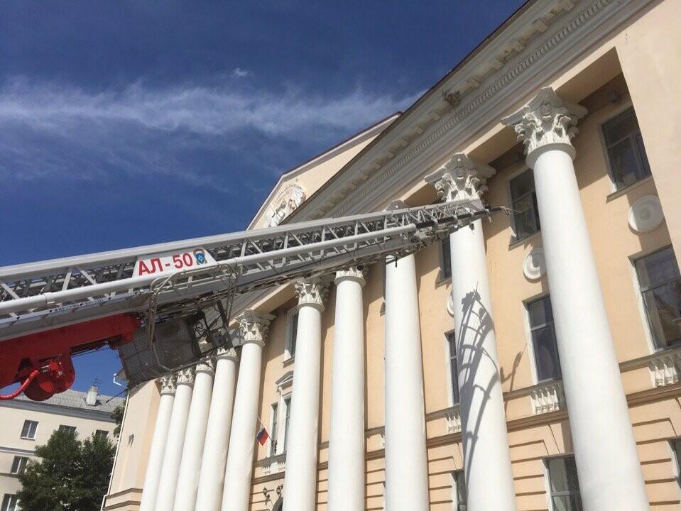 Тамбовский краеведческий музей оказался охвачен огнем, фото-8