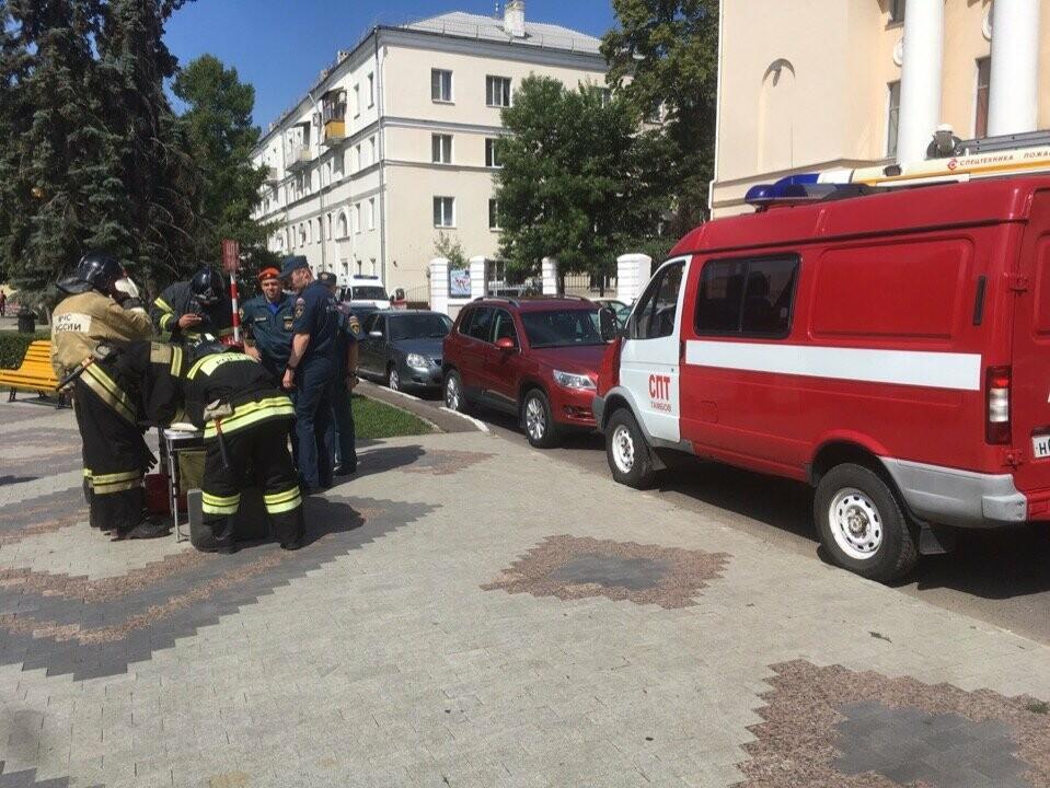Тамбовский краеведческий музей оказался охвачен огнем, фото-9