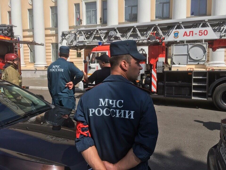 Тамбовский краеведческий музей оказался охвачен огнем, фото-3