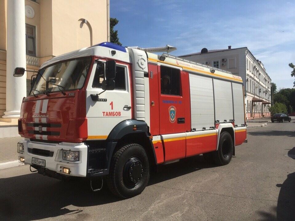 Тамбовский краеведческий музей оказался охвачен огнем, фото-1