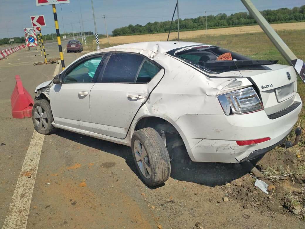 В Тамбовской области на участках дорожных работ произошло сразу два ДТП: четверо пострадали, фото-1
