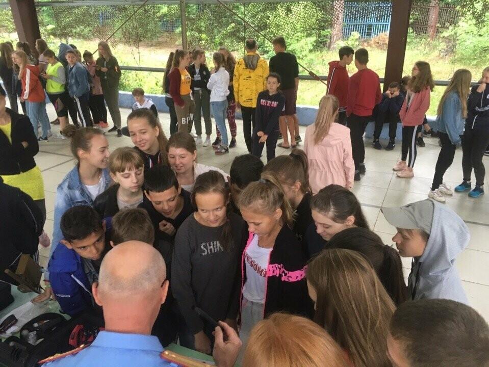 Тамбовские следователи в гостях у школьников, фото-3