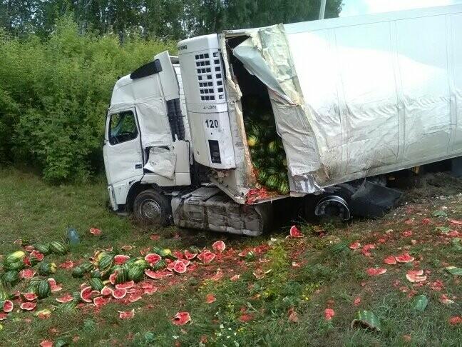 В Тамбовской области на трассе Р-22 произошло серьезное ДТП: движение затруднено, есть погибший, фото-5
