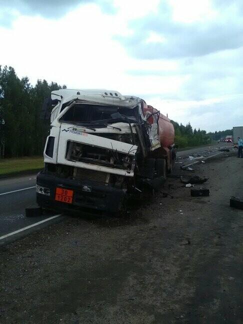 В Тамбовской области на трассе Р-22 произошло серьезное ДТП: движение затруднено, есть погибший, фото-10