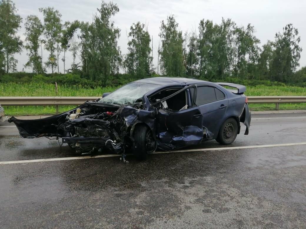 Страшное ДТП на трассе «Тамбов-Воронеж»: погибли три человека, в том числе 5-месячный ребенок, фото-1