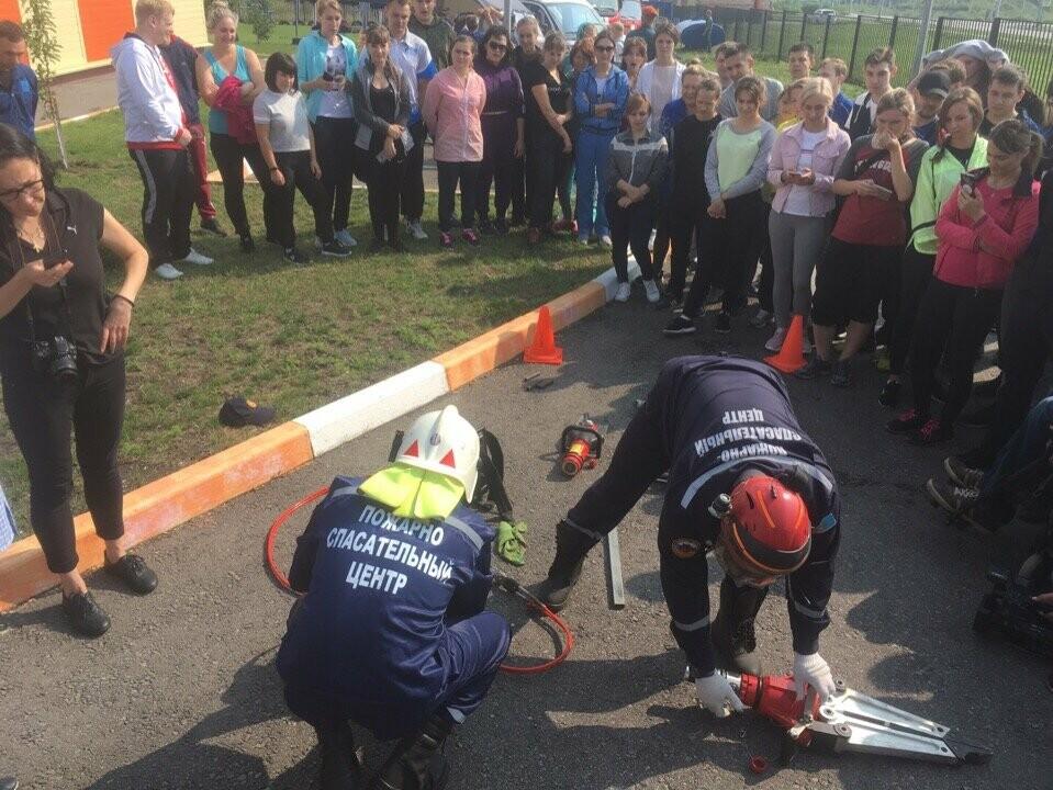 Лидеры Тамбовщины надели «боевки» пожарных, фото-2