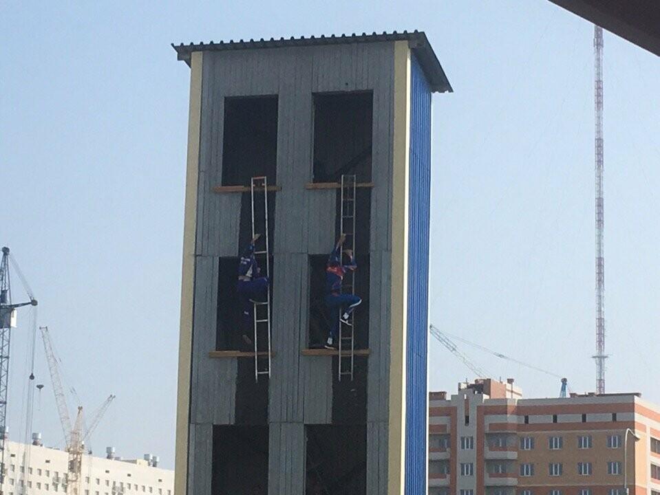 Лидеры Тамбовщины надели «боевки» пожарных, фото-3