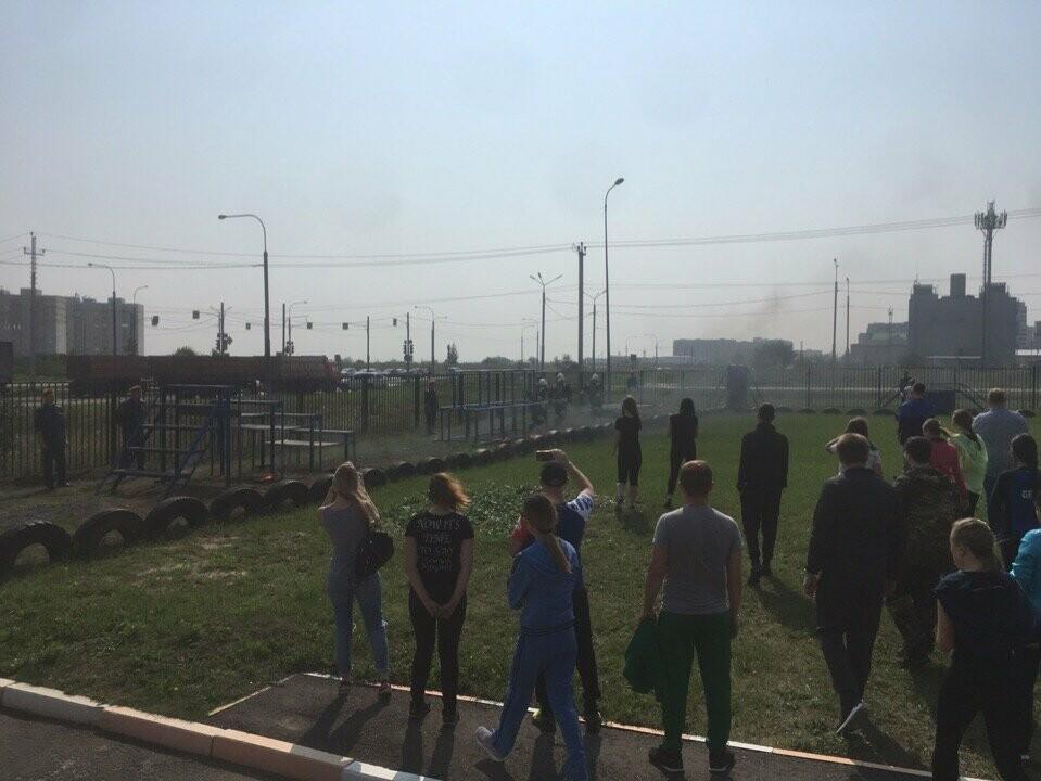Лидеры Тамбовщины надели «боевки» пожарных, фото-4
