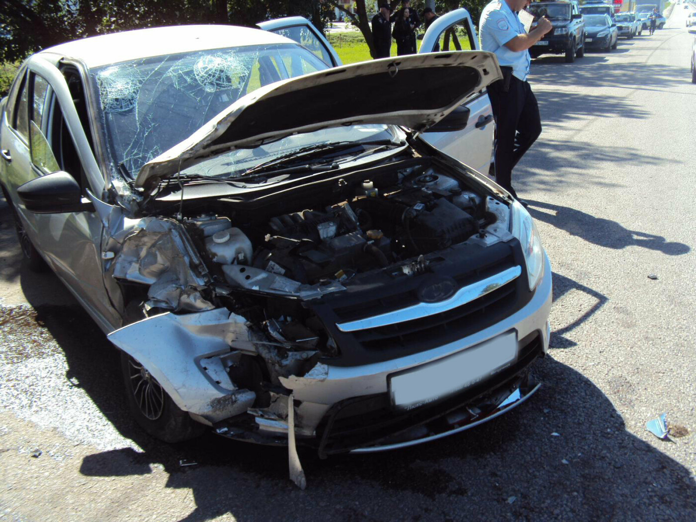 В аварии двух молодых водителей в Тамбове пострадали три человека, фото-1
